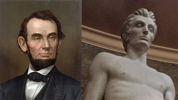 Johnjay And Rich - Shirtless Abraham Lincoln Statue At LA Courthouse Leaves Internet Thirsty