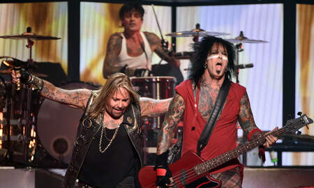 Rock News - Hear Mötley Crüe's New Song The Dirt Featuring Machine Gun Kelly