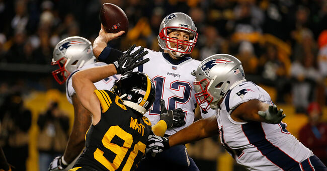 new england patriots steelers tom brady nfl