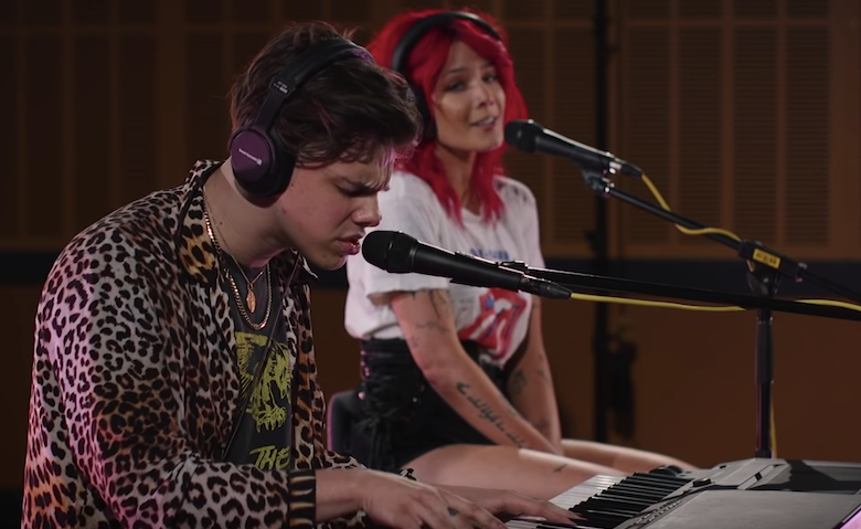 Yungblud and Halsey Prove They're Emo With Death Cab For Cutie Cover