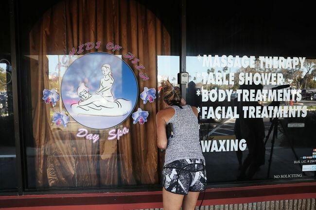 Juniper, Florida spa prostitution ring