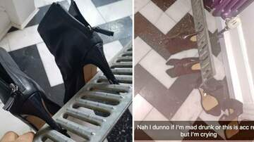 Klinger - Woman's Heels Got Stuck In Drain On Drunk Night Out… She Took Drain Home