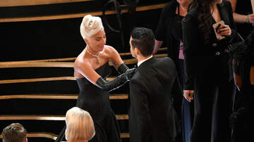iHeartRadio Spotlight - How Lady Gaga Helped Rami Malek With a Wardrobe Malfunction at the Oscars