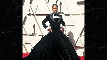 The Mighty Peanut - Billy Porter on the Red Carpet at the Oscars was sports a tuxedo-gown