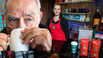 Weird, Odd and Bizarre News - Man Banned From Starbucks For Flirting With Teen Barista, Claims Ageism