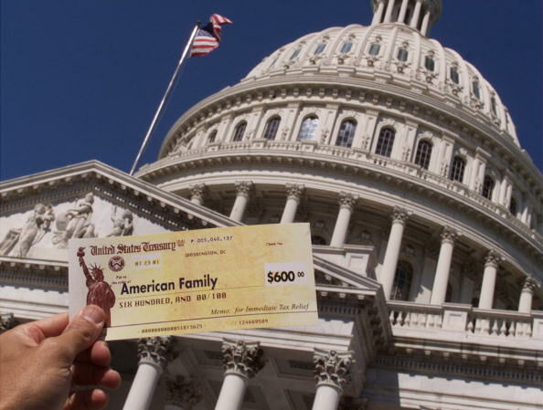 Tax Refunds GOP Tax Law  Getty Images