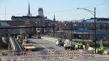 Photos - Defiance Clinton Street Bridge Closure- February 25, 2019