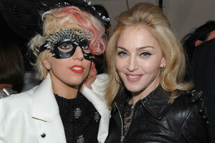 Lady Gaga & Madonna Eskimo Kiss At Oscars Afterparty After Years-Long Feud