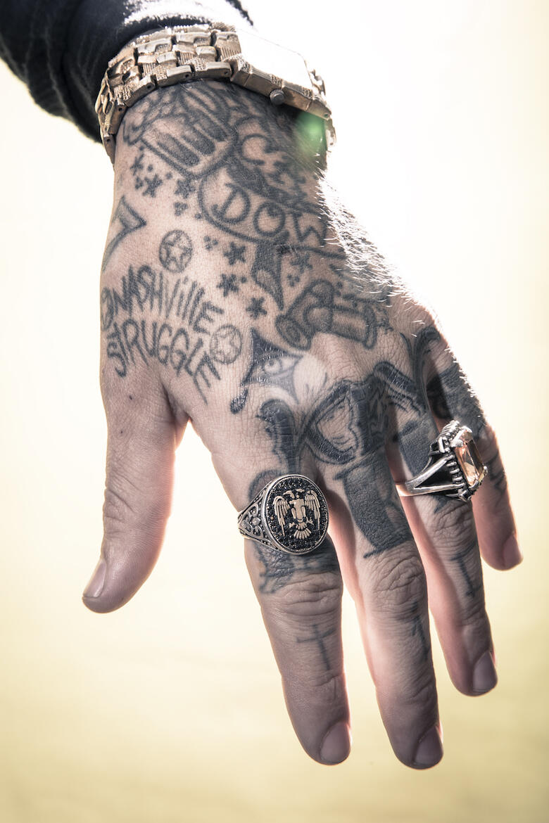 6823521f3d802 Tattoo Stories with Yelawolf | iHeartRadio