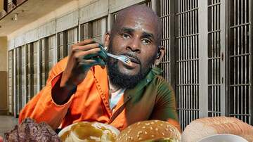The Mighty Peanut - Singer R Kelly had no problem eating well during his weekend stay in Jail