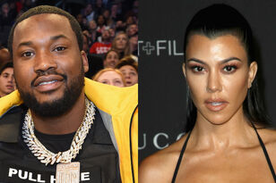 Meek Mill Shoots His Shot At Kourtney Kardashian After She Shares Sexy Pic