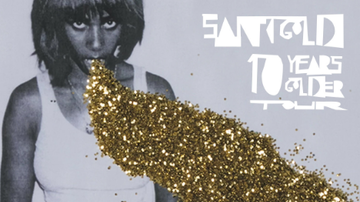 None - Santigold - 10 Years Golder Tour