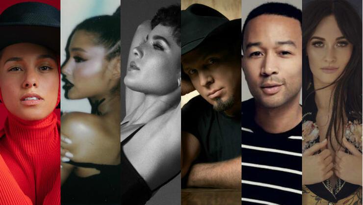 2019 iHeartRadio Music Awards: Alicia Keys, Garth Brooks