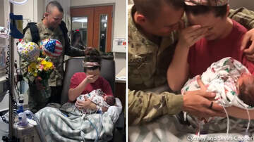 Lindsey Marie - Soldier Surprises Wife After She Gives Birth To Twins