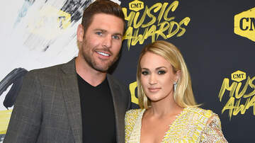 Women of iHeartCountry - Carrie Underwood's Husband Honored and Son Drops The Puck At Hockey Game