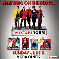 Win A Pair Of Tickets To See NKOTB June 2nd At Moda Center!