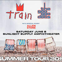 Win A Pair Of Tickets To See Train & Goo Goo Dolls June 8th At Sunlight Supply Amphitheater!