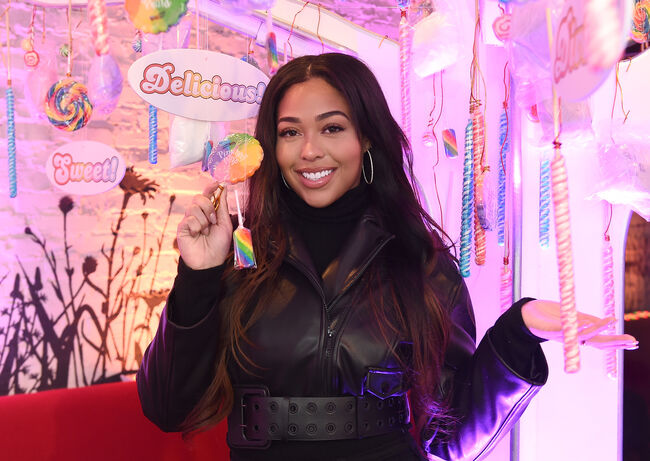 Candy Crush Friends 'Sweet n Solo' Valentine's Day Dinner Event NEW YORK, NY - FEBRUARY 06: Jordyn Woods attends the Candy Crush Friends Saga 'Sweet n Solo' Valentine's Day Dining Experience at Dirt Candy on February 6, 2019 in New York City. (Photo by Ilya S. Savenok/Getty Images for King Games)