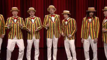 Mike Jones - Weezer's Barbershop Quartet Version Of Buddy Holly On The Tonight Show