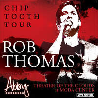 Win A Pair Of Tickets To See Rob Thomas June 14th at Moda Center's Theater of the Clouds
