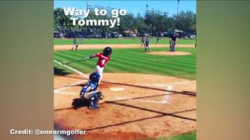 Rockin' Rick (Rick Rider) - 8 year old with one arm hits a HR!  INSPIRING!  (VIDEO)