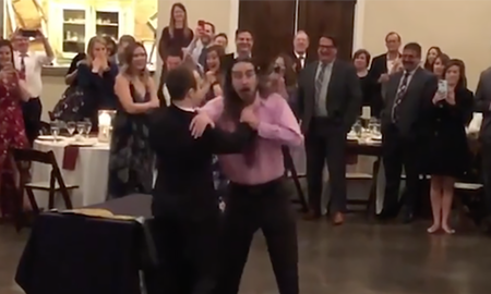 Weird News - Groom Chokes And Throws Bride's 'Ex' At Wedding