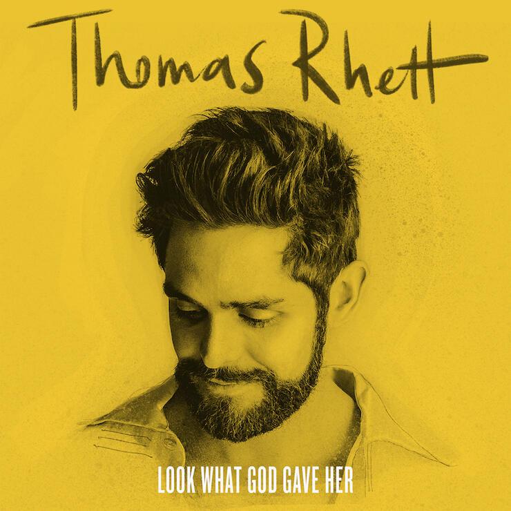 """Thomas Rhett """"Look What God Gave Her"""" Cover Art"""