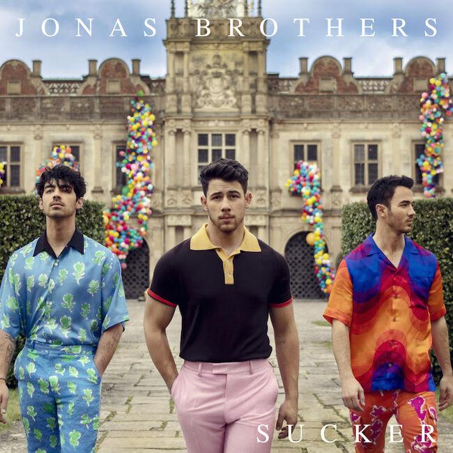 "Jonas Brothers - ""Sucker"" Cover Art"