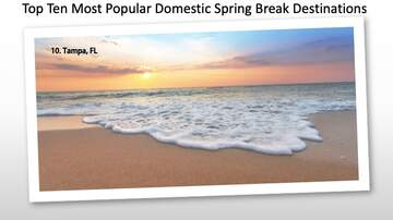 Kyle Anthony - Top Ten Spring Break Destinations