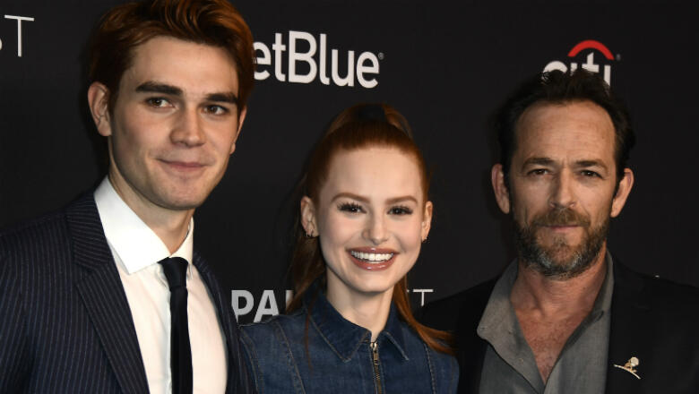 Riverdale' Cast Reacts To News Of Luke Perry's Hospitalization | Big