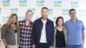 Elvis Duran - John Legend, 2/28/19