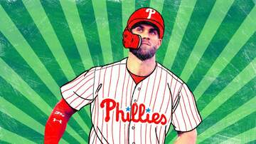 The Wizard - Phillies taken to laundry by Harper