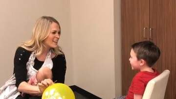Tige and Daniel - Carrie Underwood Hilariously Sings 'Happy Birthday' After Inhaling Helium