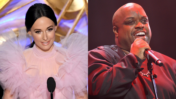 Kacey Musgraves And CeeLo Green Perform 'Crazy' Collaboration!