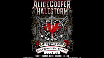 None - Alice Cooper & Halestorm with special guest Motionless In White