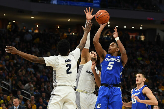 Marquette slips at home against Creighton 66-60