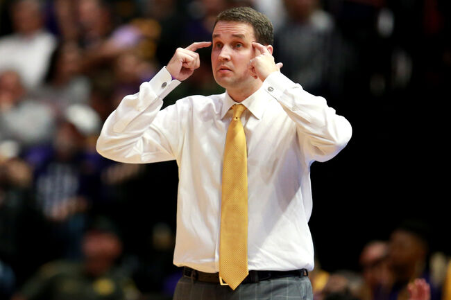 LSU Basketball Will Wade Getty Images