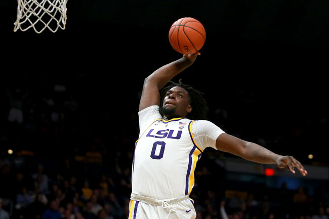 LSU Basketball Naz Reid Getty Images