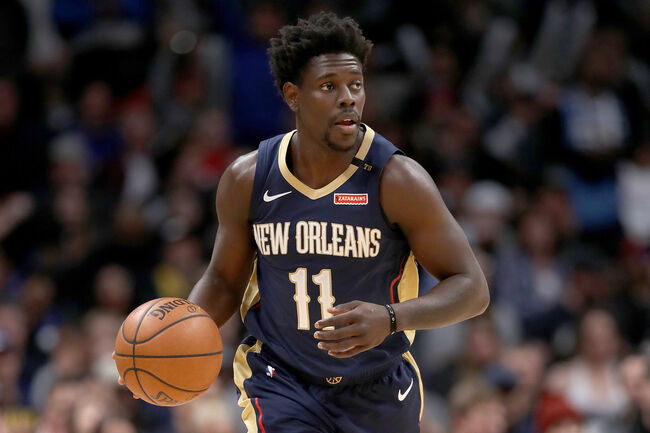 New Orleans Pelicans Jrue Holiday Getty Images