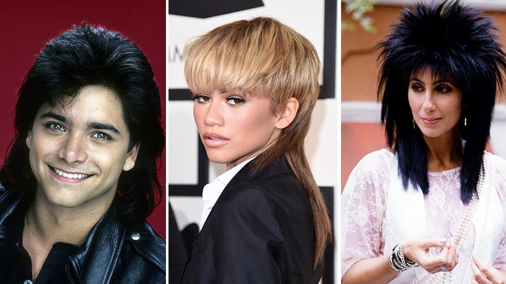 21 Celebrity Mullets