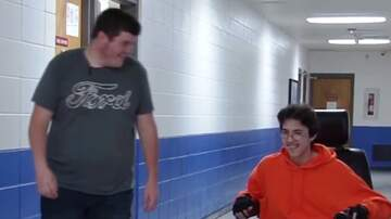 Patrick Sanders - High School Senior Saves For 2 Yrs & Buys Classmate Electric Wheelchair
