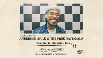 None - Anderson .Paak & The Free Nationals at WaMu Theater