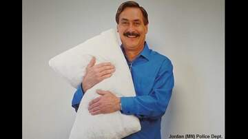Coast to Coast AM with George Noory - Cardboard Cutout of MyPillow Creator Prompts Confused Call to the Cops