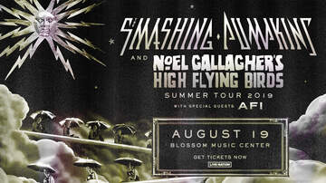 Features - Purchase presale tickets to see Smashing Pumpkins & Noel Gallagher