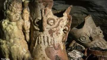 Coast to Coast AM with George Noory - Archaeologists Discover Treasure Trove of Artifacts in Ancient Mayan Cave