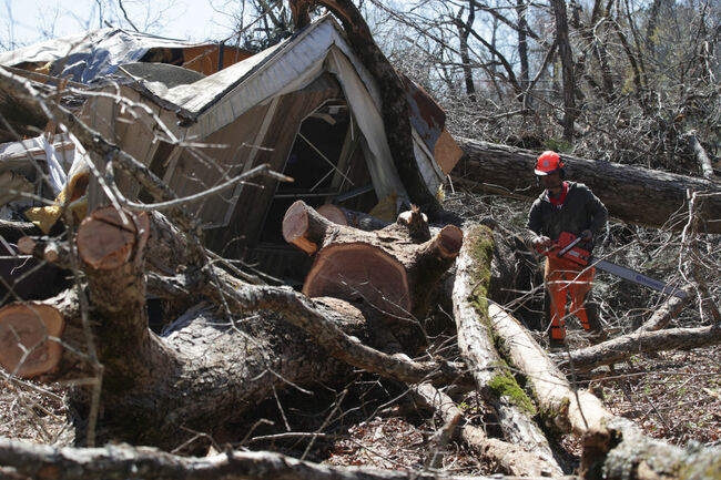 23 Killed As Tornadoes Sweep Across Southeast Causing Widespread Damage