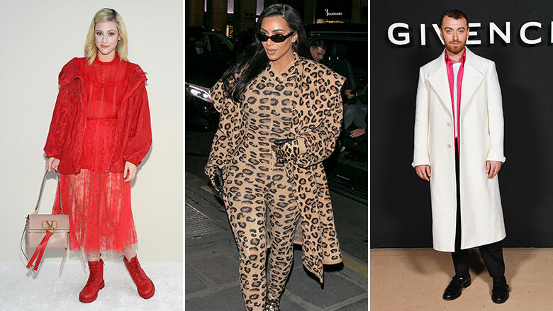 20 Celebs Who Rocked Paris Fashion Week