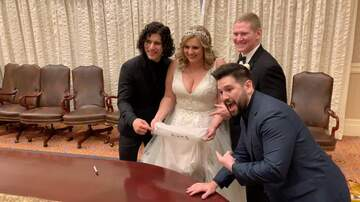 Chad Heritage - Dan + Shay at Wedding Surprise!