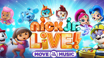 None - Nick Jr. Live! Move to the Music October 8th and 9th