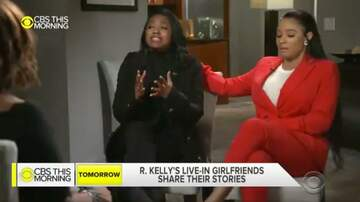 Viva La Koi - R Kelly's girlfriend calls family for the 1st time in a year